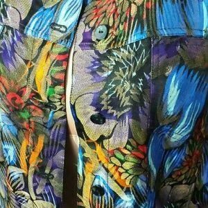 Chico's Floral Jungle Jacket- Size L